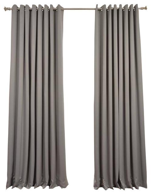 1st Avenue - Granton Doublewide Blackout Curtain With Grommets ...