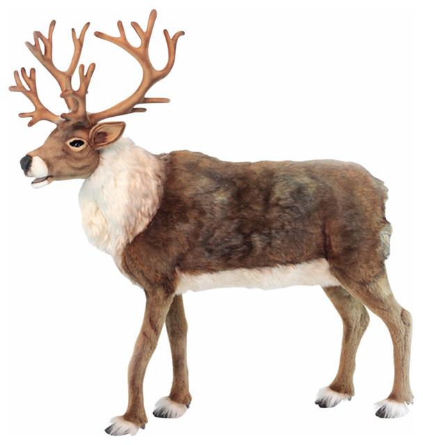 Nordic Deer Stuffed Animal - Rustic