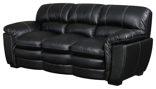 Carter Sofa Black Transitional Sofas By Picket House
