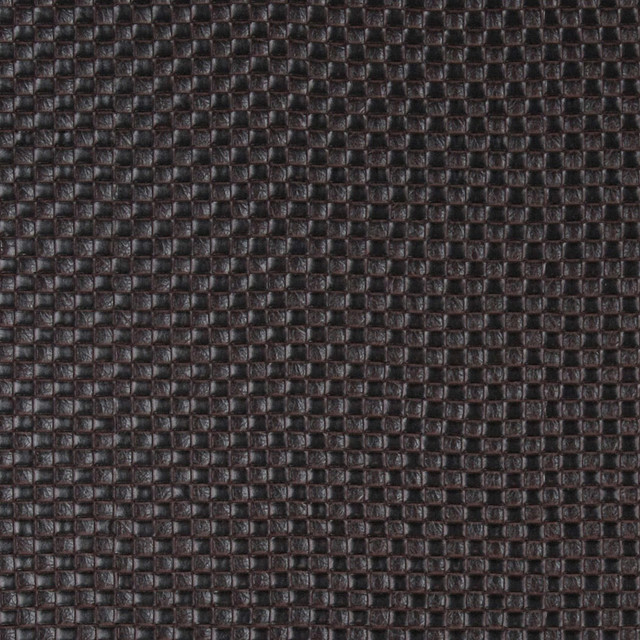 Brown Basket Weave Textured Faux Leather Vinyl By The Yard