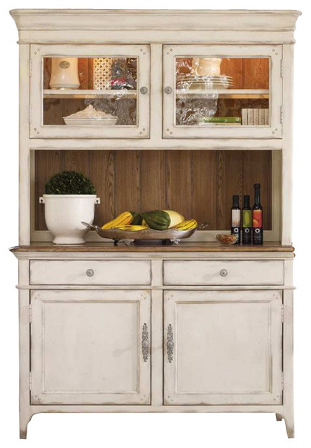 hooker furniture chic coterie buffet and hutch in antique white rh houzz com what is a buffet hutch magnolia manor antique white buffet and hutch