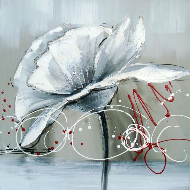 Winter Flower II Oil Painting