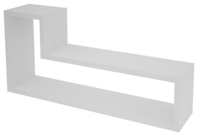 Barbas Tetris Floating Shelf contemporary-display-and-wall-shelves