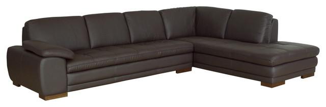 Sensational Diana Dark Brown Sofa Chaise Sectional Beatyapartments Chair Design Images Beatyapartmentscom