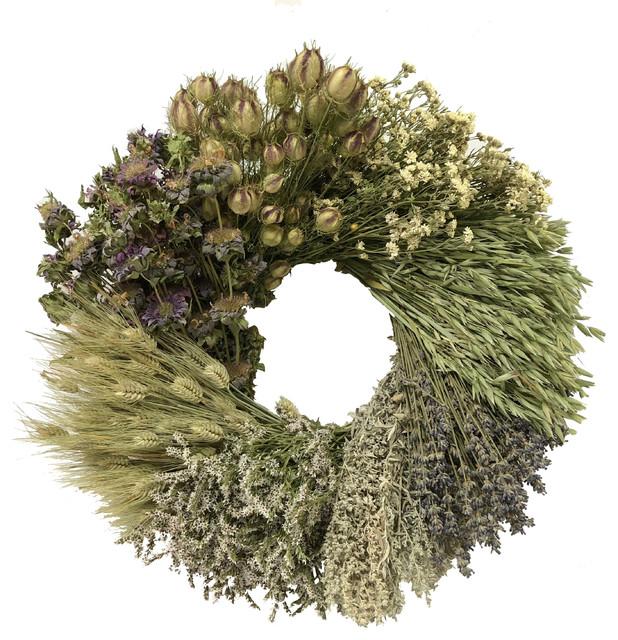 Tranquility Wreath, Lemon Mint