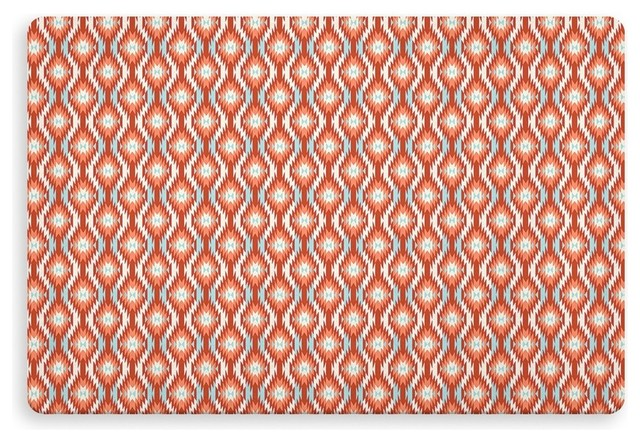 Pepe Red Indoor/outdoor Floor Mat By Terri Ellis, 27x18.