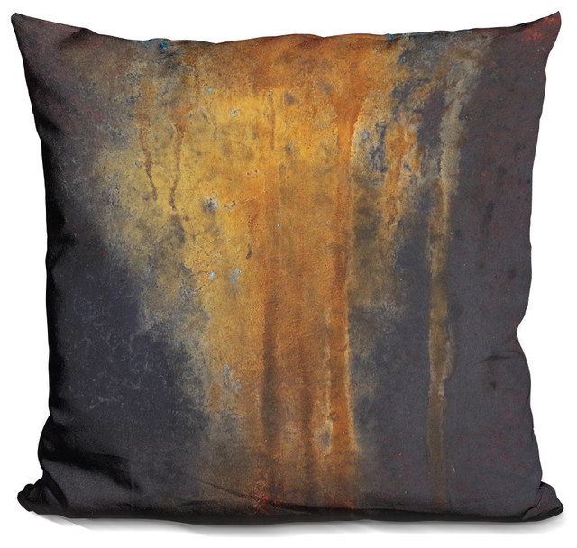 Rusted Falls 2 Decorative Accent Throw Pillow.