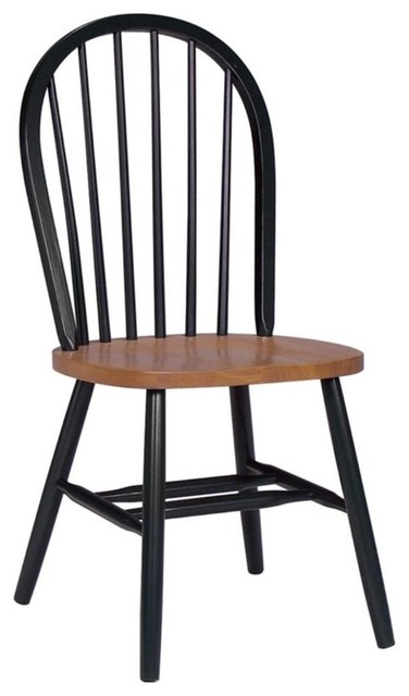 Windsor High Spindle Back Chair W Plain Legs Farmhouse Armchairs And Accent