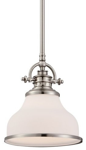 Quoizel grant brushed nickel reviews houzz quoizel mini pendant traditional pendant lighting mozeypictures Image collections