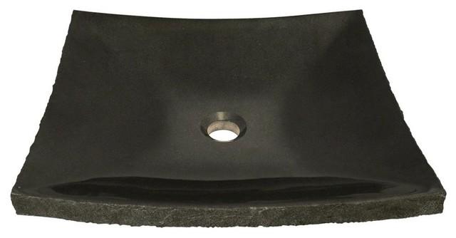 Shanxi Black Granite Sink, Sink Only, No Additional Accessories.