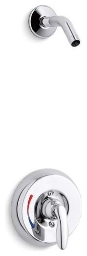Kohler Coralais Shower Valve Trim, No Showerhead, Polished Chrome