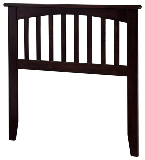 Mission Furniture In Transitional Design: Atlantic Furniture Mission Twin Spindle Headboard
