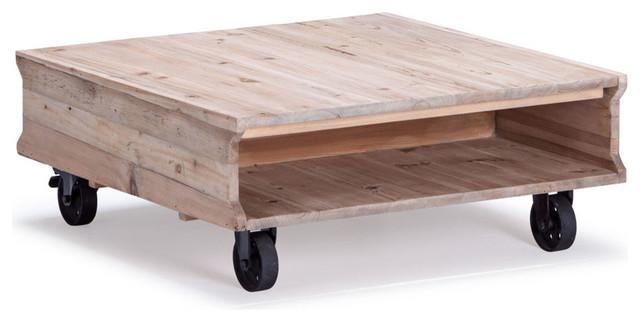 Zuo Modern Westlake Coffee Table, Natural Oak 98278