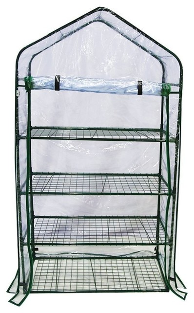 Tier Mini Greenhouse Portable Lawn And Garden Green House.