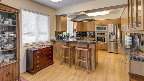 if iu0027m not mistaken the cabinets are honey colored we are considering a beige colored floor would this be a good color to go with