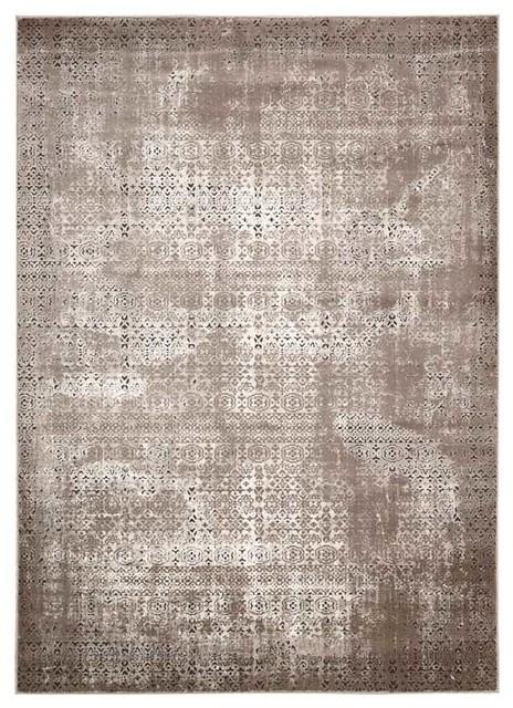 Nourison Karma KRM01 Rug, Ash, 160x223 cm