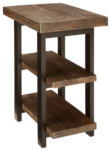 Alaterre End Table Industrial Side Tables And End Tables