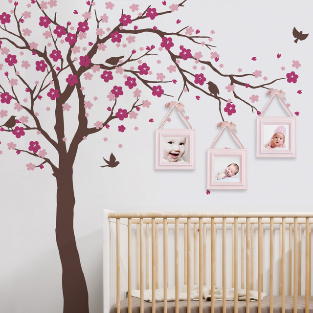 Cherry Blossom Tree Decal, Ceiling Style, Color Scheme A Contemporary Wall  Decals Part 34