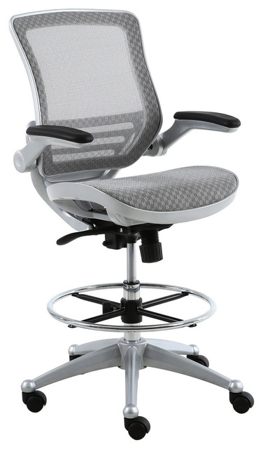 Mesh Heavy Duty Drafting Chair