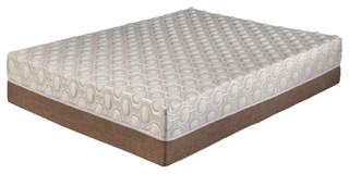 "11"" Dahlia Visco Mattress, Beige, Twin Extra Long"