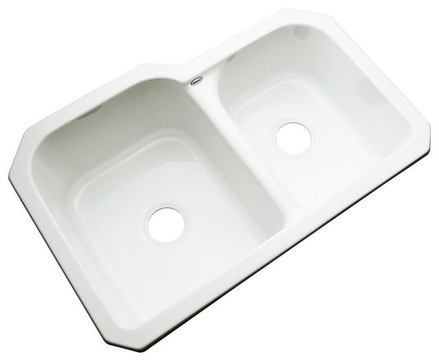 Undermount White Kitchen Sink : Augusta Undermount Kitchen Sink - Contemporary - Kitchen Sinks - by ...