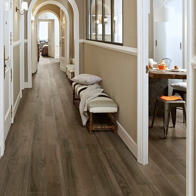 Wood Look Tile American Traditional Houston By High End
