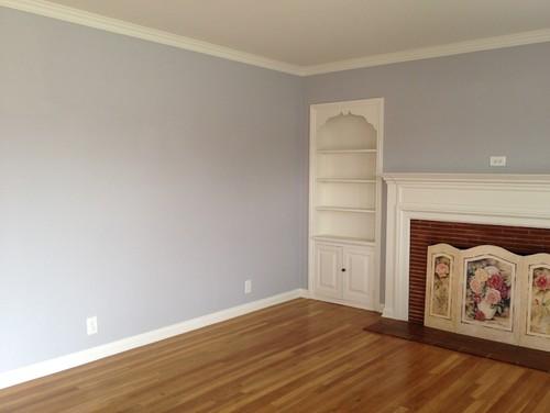 Help My Gray Walls Look Less Purple
