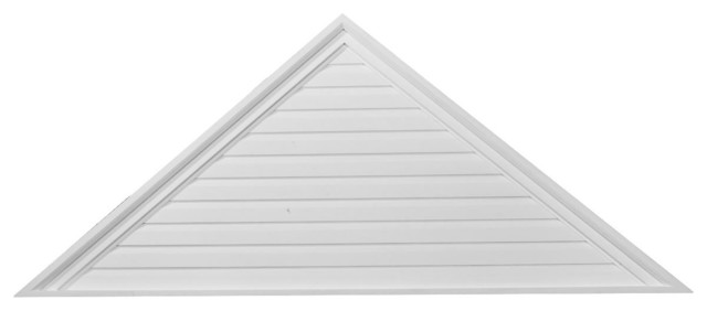 """Triangle Gable Vent, Functional, 72""""w X 21""""h X 2 1/4""""p."""