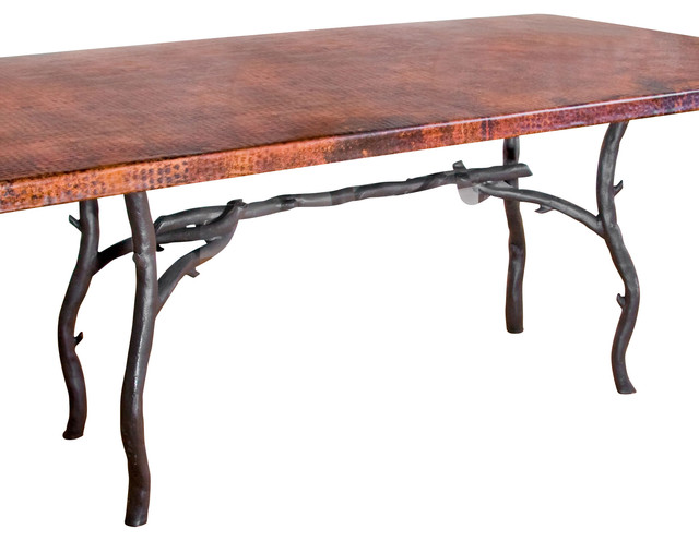 South Fork Rectangle Dining Table Base Only rustic-table-tops-and-bases