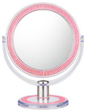 Pink Bling Double Sided Free Standing Mirror