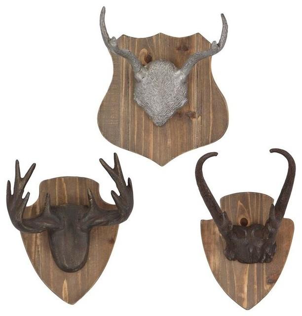 Rustic Wall Decor Set : Hunting season wall decor set of rustic