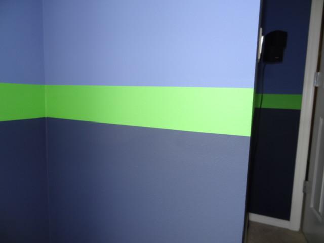 Sport Theme Room Graphic Stripes