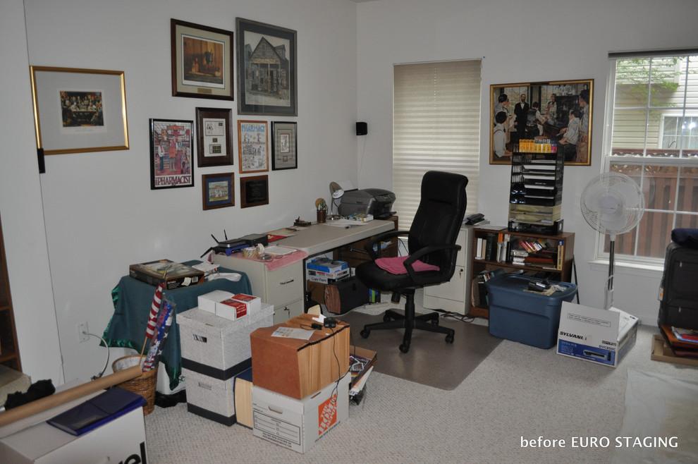 Occupied staging in Alexandria, VA