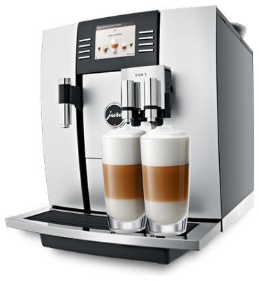 Jura Capresso Giga 5 One-Touch Cappuccino And Latte Macchiato System.