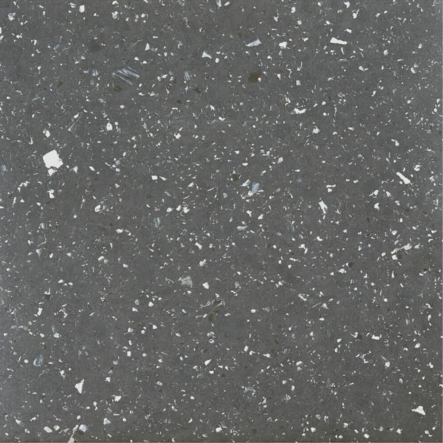 sterling 12x12 self adhesive vinyl floor tile black speckled granite