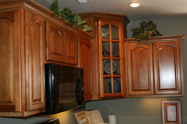 Hickory Kitchen Cabinets Home Design - Traditional - Columbus - by ...