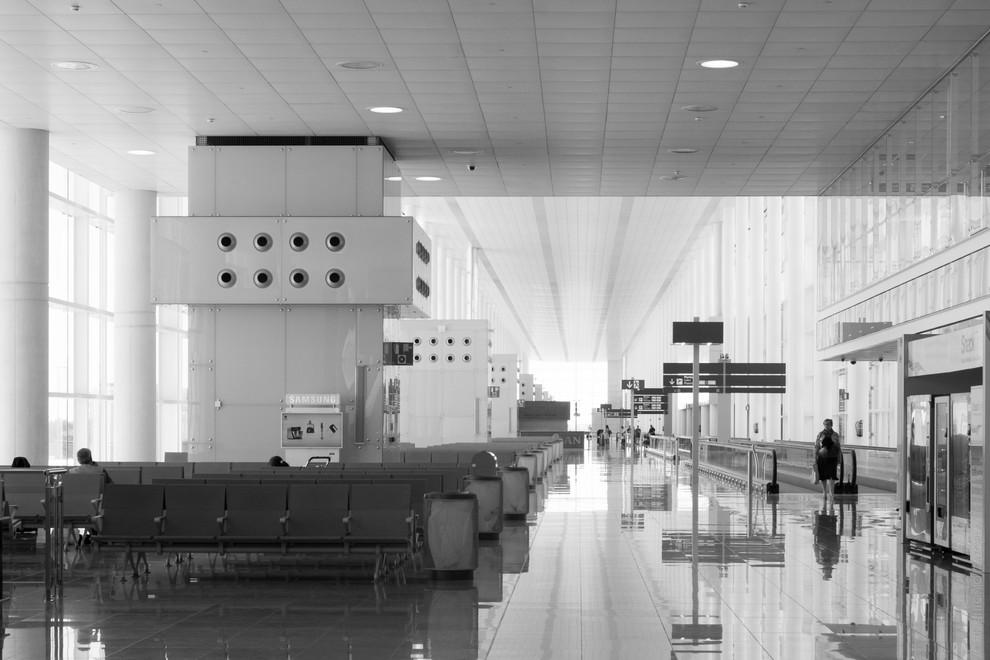 Aeropuerto de Barcelona. Terminal 1.