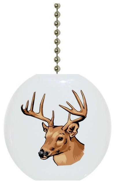 Deer Ceiling Fan Pull Traditional