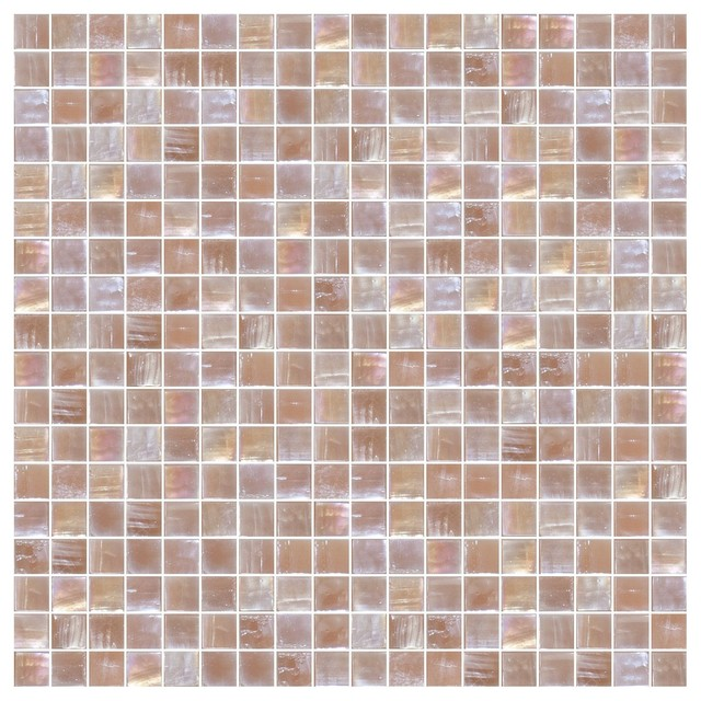 shimmerfly iridescent glass tiles 5 8 quot brown 17159
