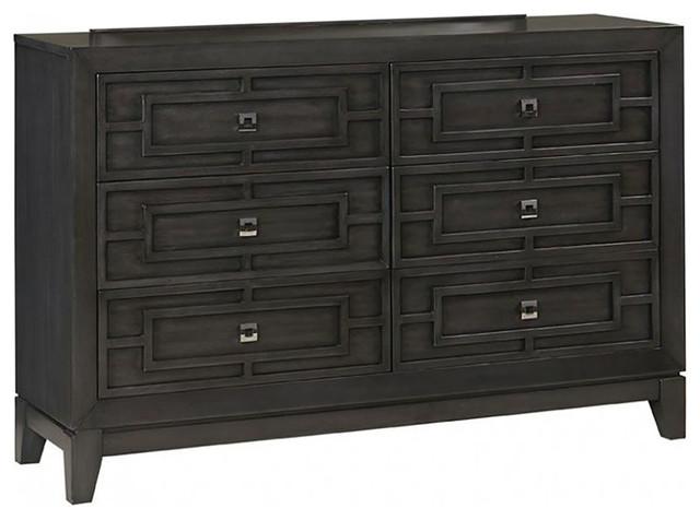 Wright 6-Drawer Dresser.