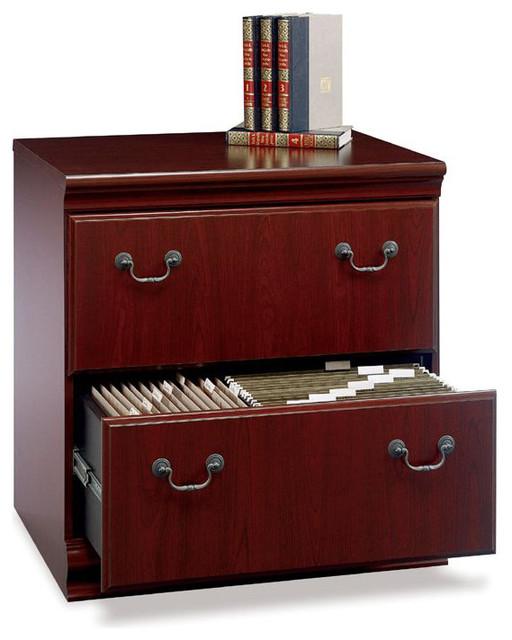 Bush Birmingham Executive 2-Drawer Lateral Wood File ...