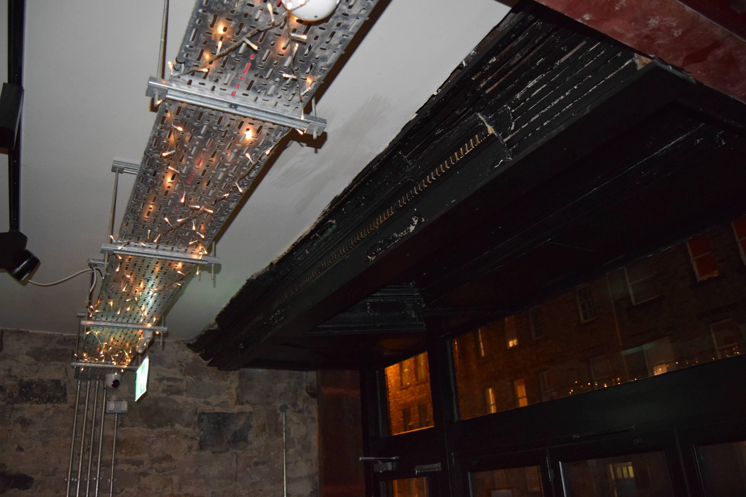 Alterations to B-listed bar, Edinburgh