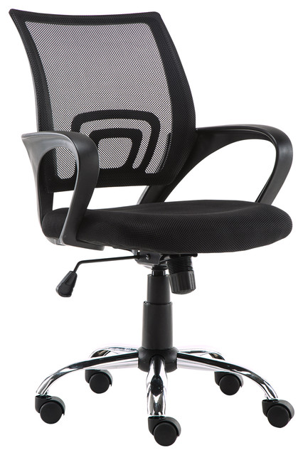 Tremendous Cadmus Mid Back Office Chair Black Andrewgaddart Wooden Chair Designs For Living Room Andrewgaddartcom