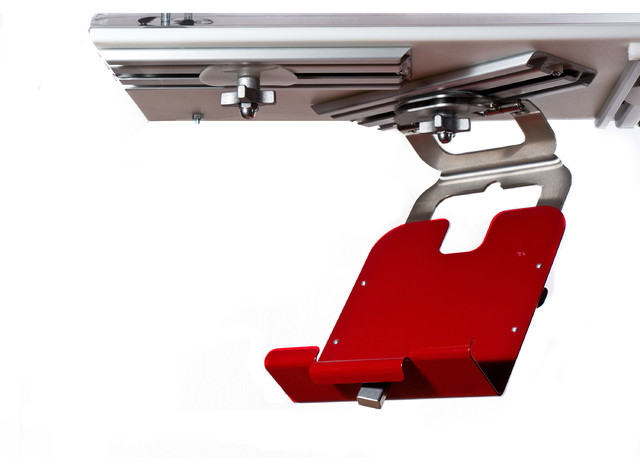 Hiebar Kitchen Media Platform For Tablets/books, Ritzy Red.