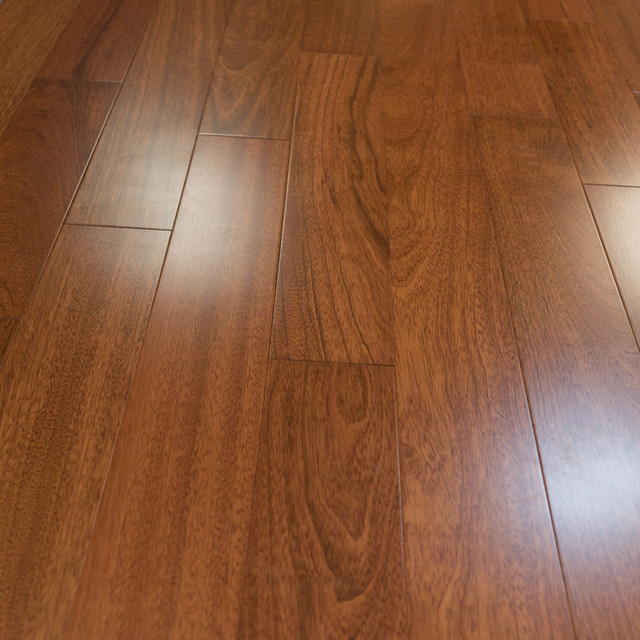 Brazilian Cherry Prefinished Engineered Wood Flooring, 2mm, Sample