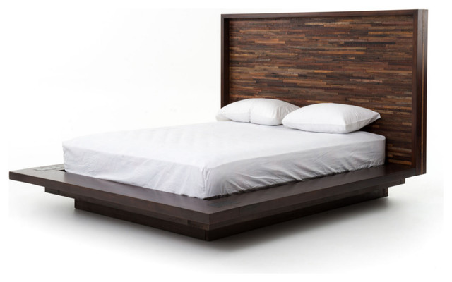 Bed frames headboards - Parker Platform Bed Contemporary Platform Beds By