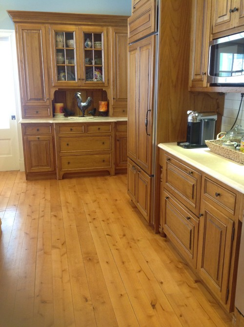kitchen cabinet/flooring quandry