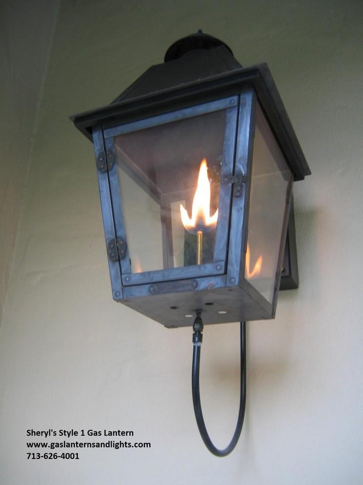 Sheryl's Style 1 Gas Lanterns