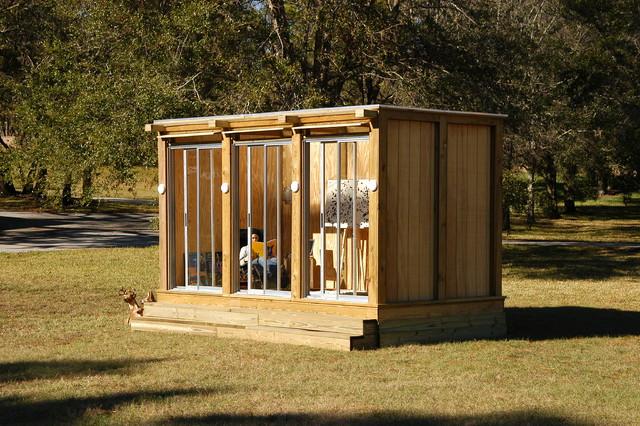 metroshed modern garden shed