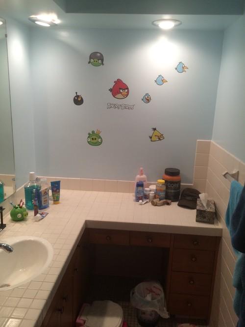 Ugly Kids Bathroom Needs Gutting